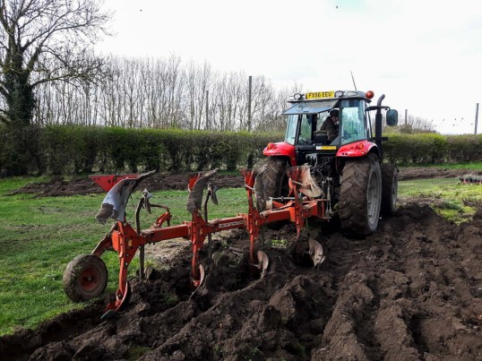 Ploughing the Pumpkin Patch