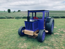 The Purple Tractor!