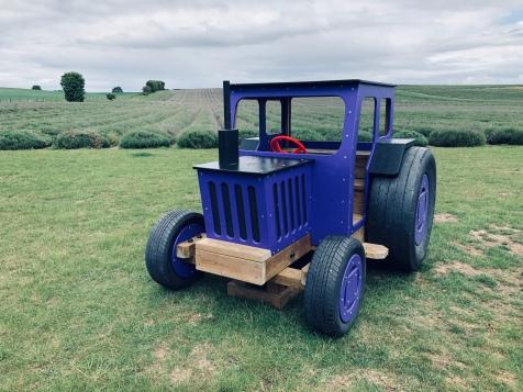The Purple Tractor!